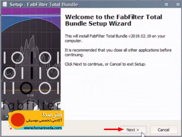 آموزش نصب و کرک کردن Fab Filter