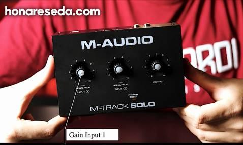 آنباکس کارت صدا M - Track Solo